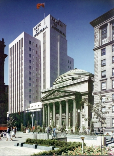 Bank of Montreal - 1960, Montreal, Quebec