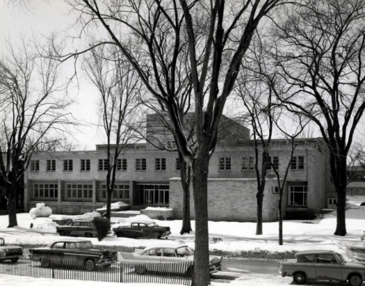 Ellis Hall - 1958, Kingston, Ontario