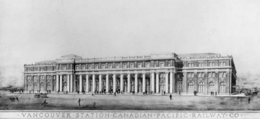 Vancouver Terminal Station - 1913, Vancouver, B.C.
